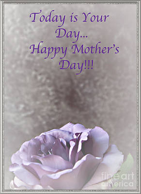Photograph - Happy Mothers Day No. 1 by Sherry Hallemeier