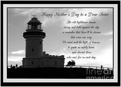 Photograph - Happy Mother's Day To A Dear Sister by Joy Ballack