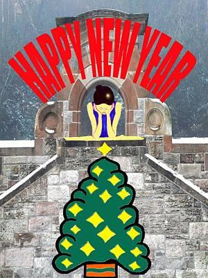 Happy New Year 12 Art Print by Patrick J Murphy