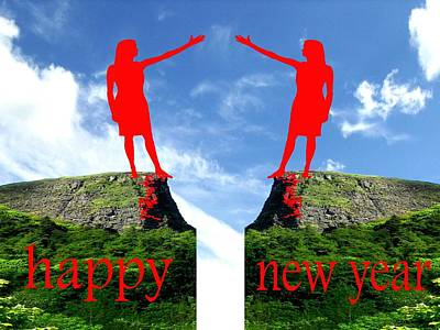 Happy New Year 36 Art Print