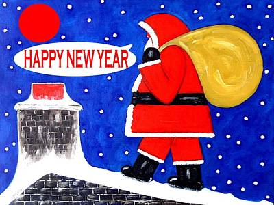 Happy New Year 48 Art Print by Patrick J Murphy