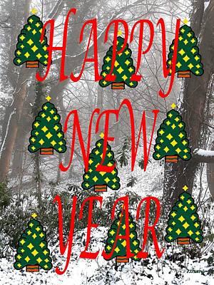 Happy New Year Mixed Media - Happy New Year 60 by Patrick J Murphy