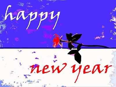 Happy New Year Mixed Media - Happy New Year 65 by Patrick J Murphy