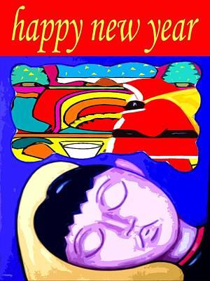 Happy New Year Mixed Media - Happy New Year 66 by Patrick J Murphy