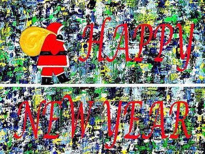Happy New Year Mixed Media - Happy New Year 68 by Patrick J Murphy