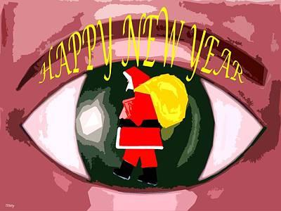 Happy New Year Mixed Media - Happy New Year 73 by Patrick J Murphy