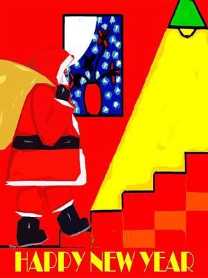 Happy New Year Mixed Media - Happy New Year 84 by Patrick J Murphy