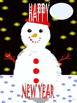 Happy New Year Mixed Media - Happy New Year 87 by Patrick J Murphy