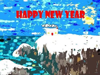 Happy New Year Mixed Media - Happy New Year 88 by Patrick J Murphy