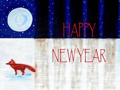 Happy New Year 9 Art Print by Patrick J Murphy