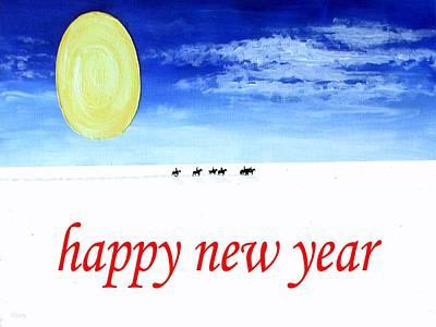 Happy New Year Mixed Media - Happy New Year 90 by Patrick J Murphy