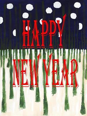 Happy New Year 92 Art Print by Patrick J Murphy