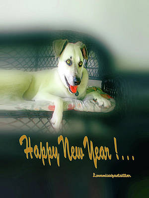 Digital Art - Happy New Year Art 3 by Miss Pet Sitter