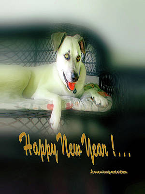 Digital Art - Happy New Year Art 4 by Miss Pet Sitter