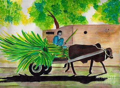 Saba Painting - Happy New Year by Bobby Dar