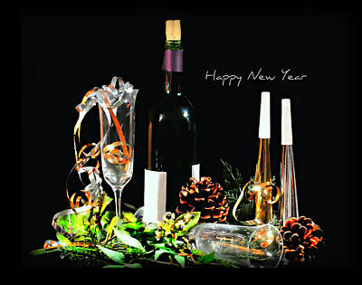 Photograph - Happy New Year by Diana Angstadt