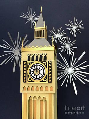 Mixed Media - Happy New Year by Isobel Barber