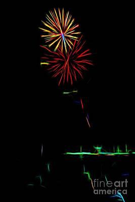 Photograph - Happy New Year by Jon Burch Photography