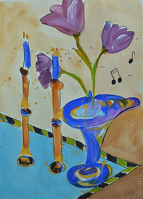 Painting - Happy Notes II by Teresa Tilley