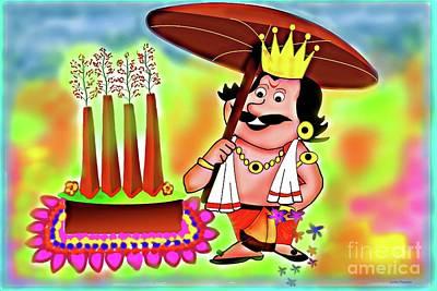 Digital Art - Happy Onam by Latha Gokuldas Panicker