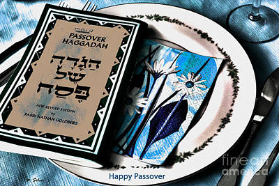 Photograph - Happy Passover by Nina Silver