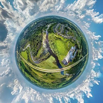 Photograph - Happy Planet by Randy Scherkenbach