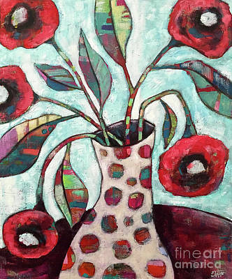 Impressionist Landscapes - Happy Poppies by Stephanie Gerace