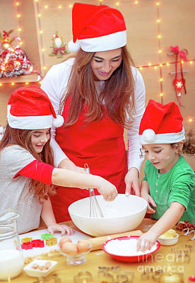 Photograph - Happy Preparation For Christmas Holidays by Anna Om