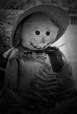 Photograph - Happy Scarecrow2 by Karen Harrison
