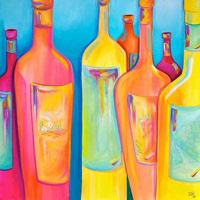 Painting - Happy Shiny Hour by Debi Starr