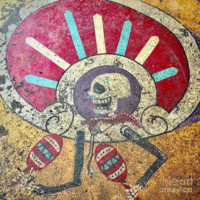Photograph - Happy Skull by Flavia Westerwelle