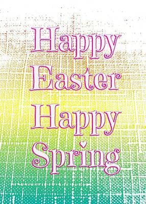 Photograph - Happy Spring by Jenny Revitz Soper
