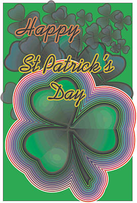 Digital Art - Happy St. Patrick's Day by Sherril Porter