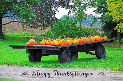 Photograph - Happy Thanksgiving by David Arment