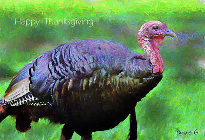 Photograph - Happy Thanksgiving by Diane Giurco
