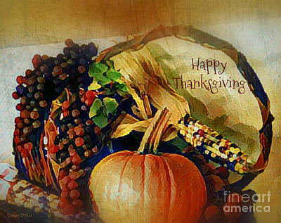 Photograph - Happy Thanksgiving by Robert ONeil