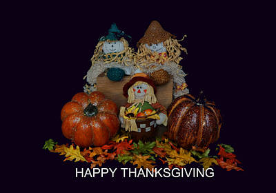 Photograph - Happy Thanksgiving To All by Pamela Walton