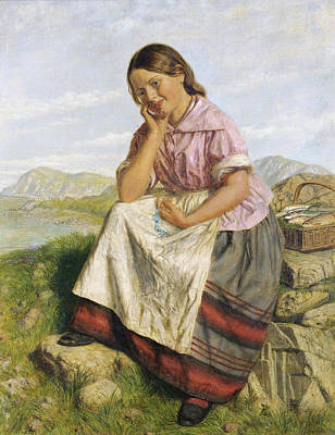 Painting - Happy Thoughts by Joseph Edward Worrall