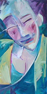 Jazz Painting - Happy by Tim Nyberg