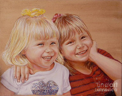Painting - Happy Times by LeRoy Jesfield