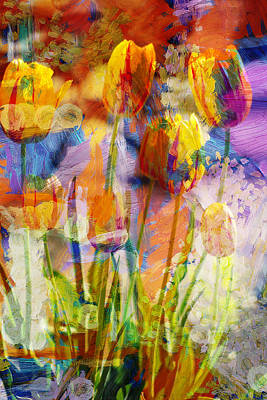 Photograph - Happy Tulips by Suzanne Powers