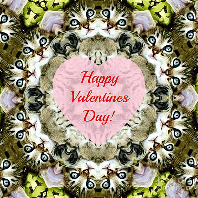 Photograph - Happy Valentine's Day by Kathy M Krause