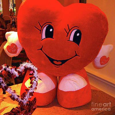 Photograph - Happy Valentines Day by Merton Allen