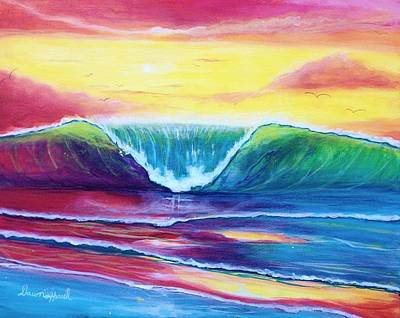 Painting - Happy Wave by Dawn Harrell