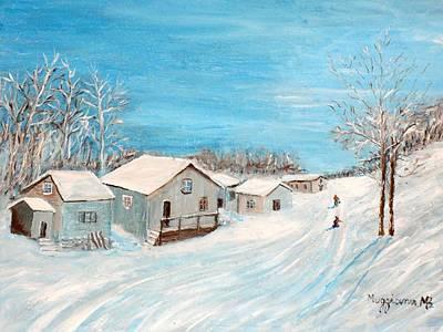Happy Winter Art Print