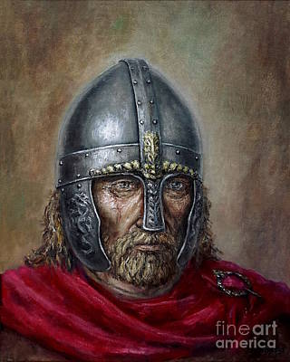 Painting - Harald Wartooth by Arturas Slapsys