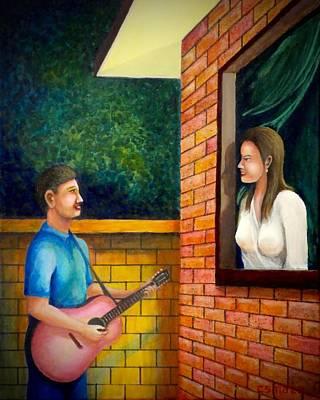 Painting - Harana 2 by Cyril Maza