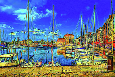 Photograph - Harbor 13918 by Ray Shrewsberry
