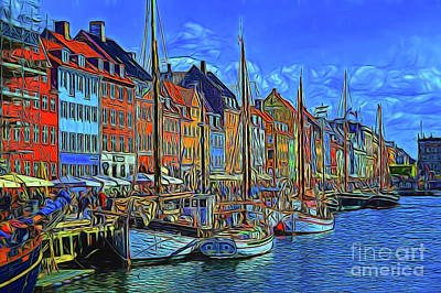 Photograph - Harbor 14318 by Ray Shrewsberry