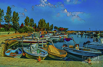 Photograph - Harbor 18518 by Ray Shrewsberry
